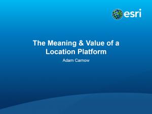 Meaning&ValueOfALocationPlatformShare